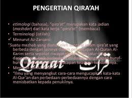 Pengertian Qiraat Al Quran